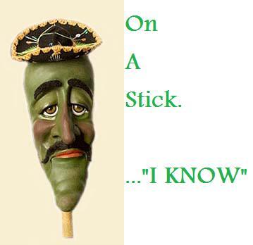 Photos - Jose Jalapeno On A Stick Jose Is A Mexican On A Stick Peanut